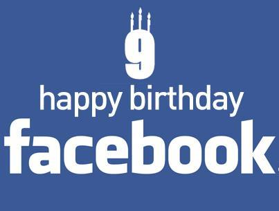 Facebook Turns 9