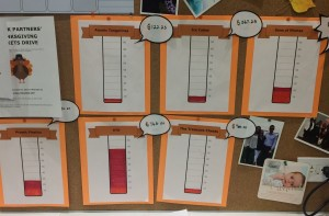 Prosek's Month of Giving Competition Board