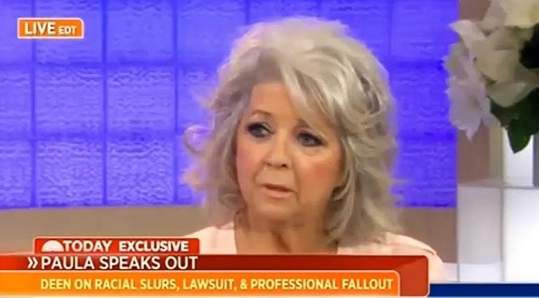 Paula Deen on Today